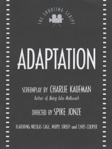 "Cover of ""Adaptation (Shooting Scripts)"""