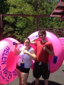 River Tubing with my Sister