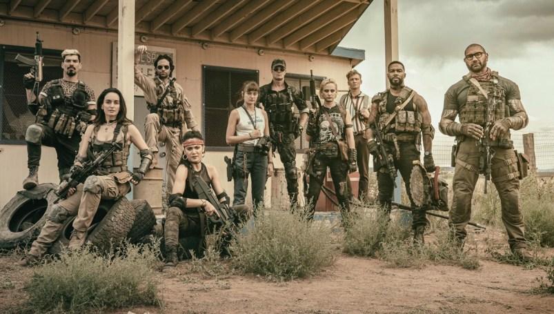 'Army of the Dead' pretende ser una mezcla entre muchos zombis y cientos de disparos.