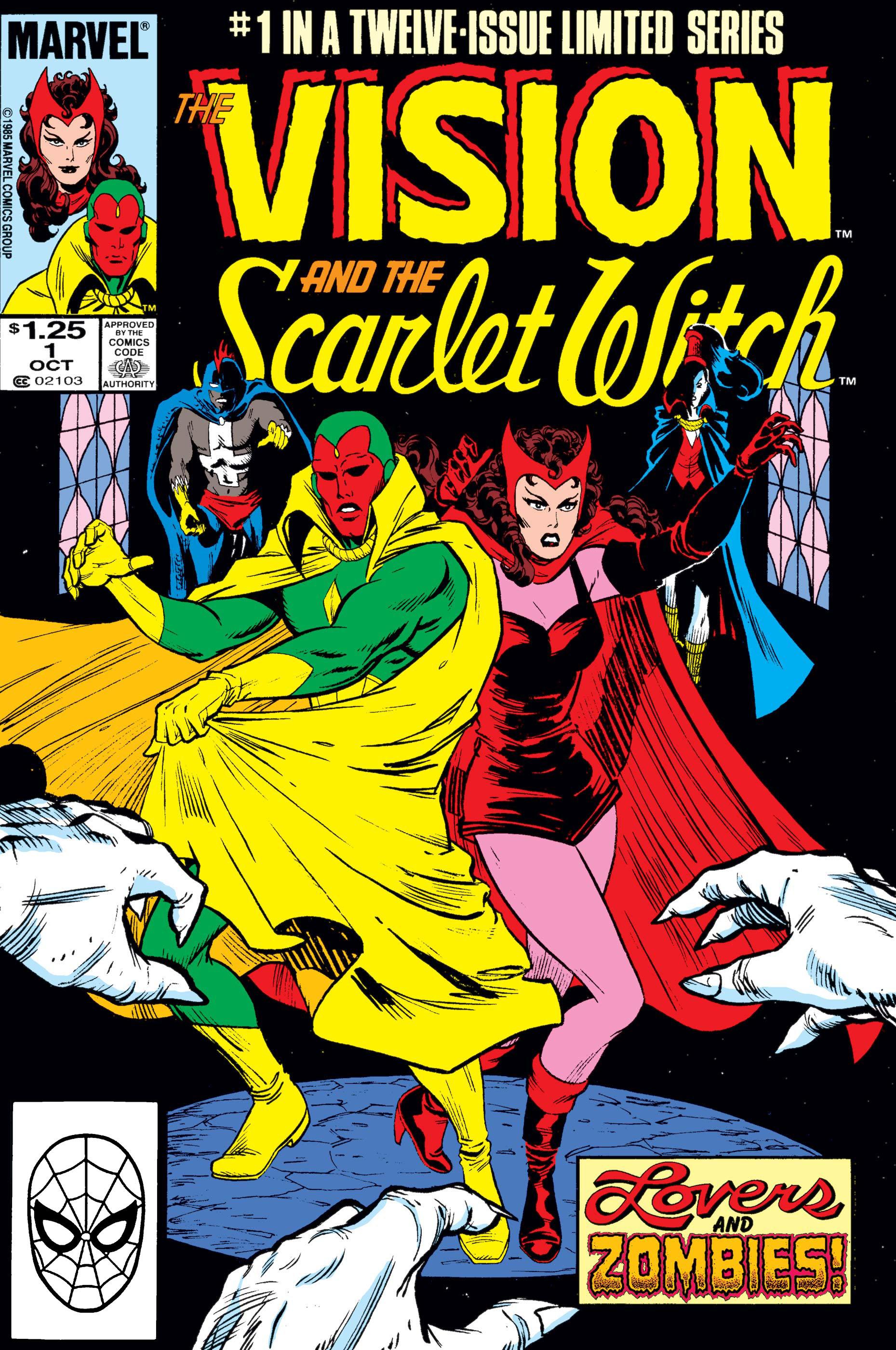 La visión y la bruja escarlata # 1 de Marvel Comics