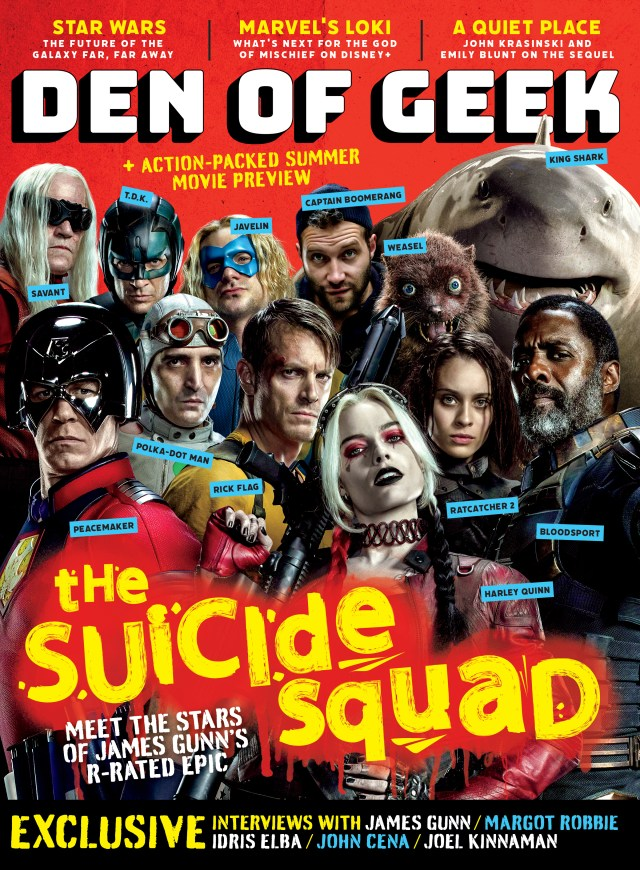 Den of Geek Magazine #2: The Suicide Squad Cover