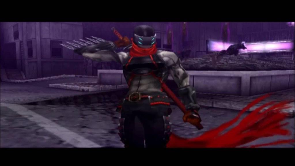 Shinobi PS2 cutscene