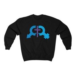 Denoli Logo Unisex Heavy Blend™ Crewneck Sweatshirt