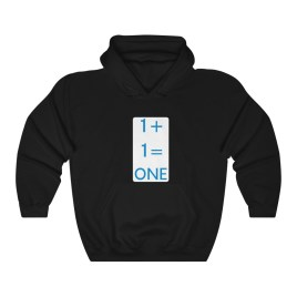 1+1 Unisex Heavy Blend™ Hooded Sweatshirt