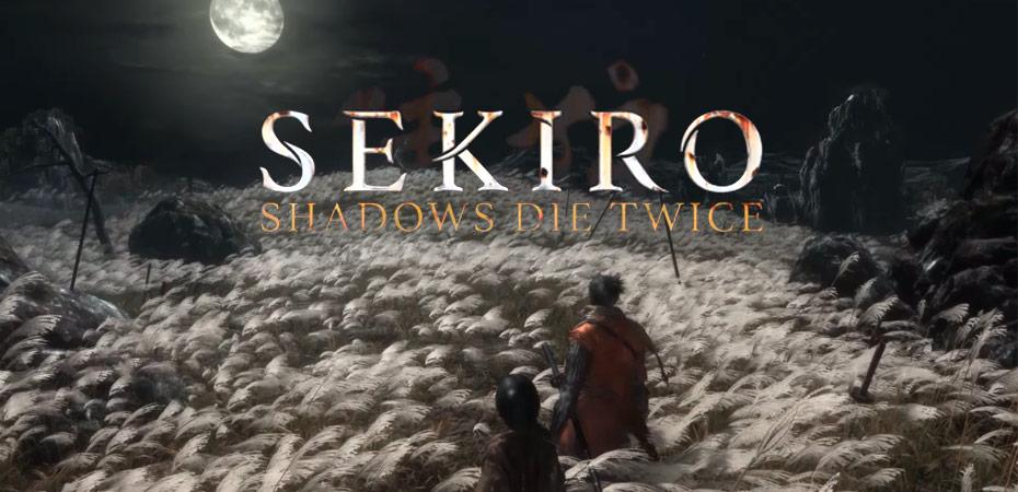 FromSoftware Anuncia Sekiro Shadows Die Twice Para PS4