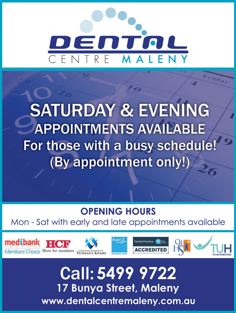 Dental Centre Maleny Opening Hours