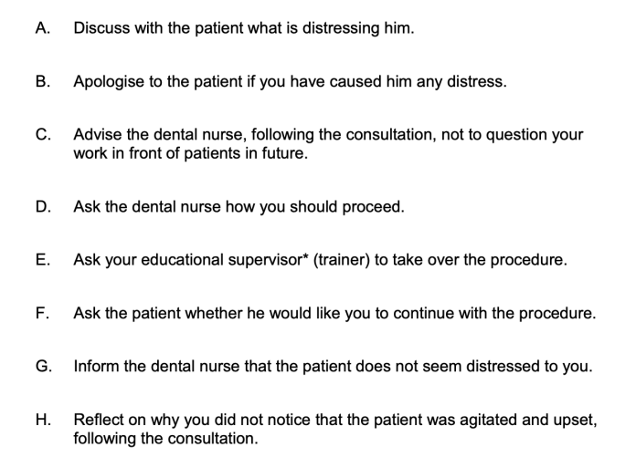 Situational Judgement Test Example 2