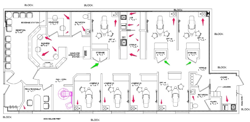 dental office design floor plan how to review and revise