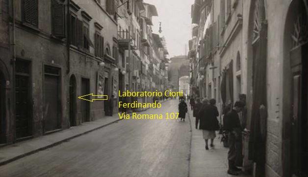 via Romana 107 laboratorio Cioni