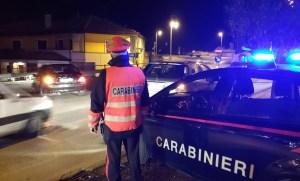 posto-di-controllo-carabinieri-montoro-notte