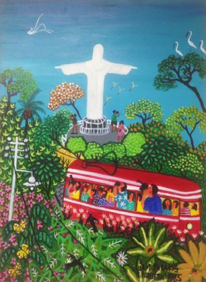 """Corcovado"", opera di Lia Mittarakis esposta al MIAN"