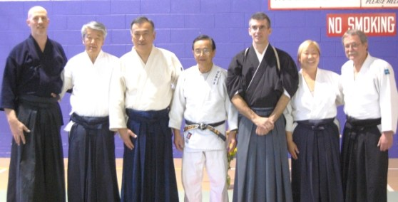 Instructors at the Aikido Summit