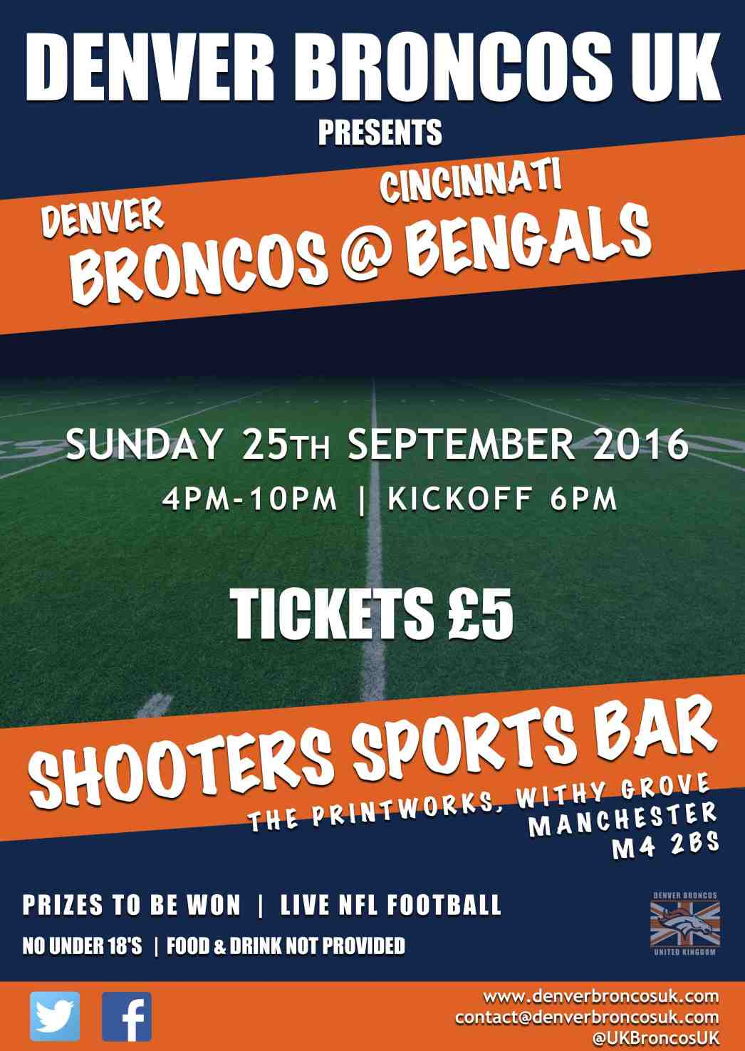 Denver Broncos UK Manchester Meet Up