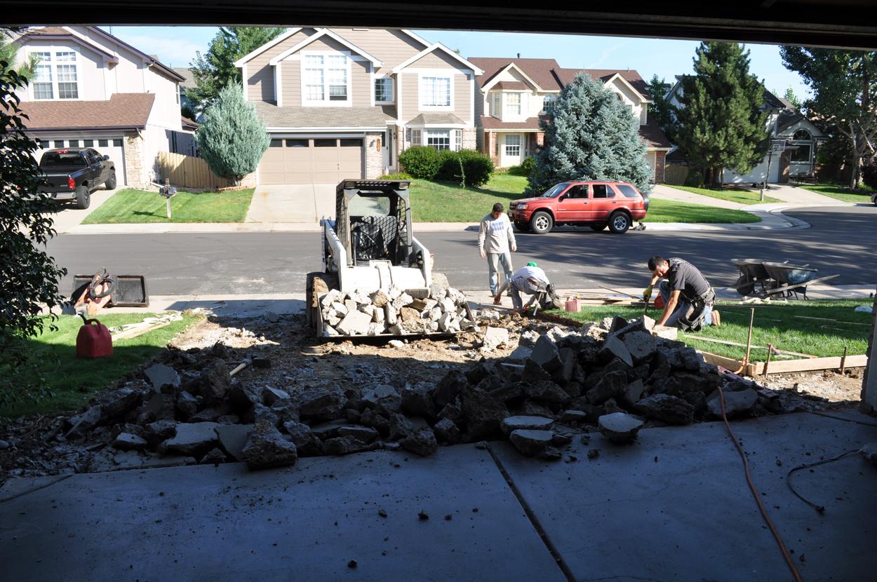 concrete removal services in denver