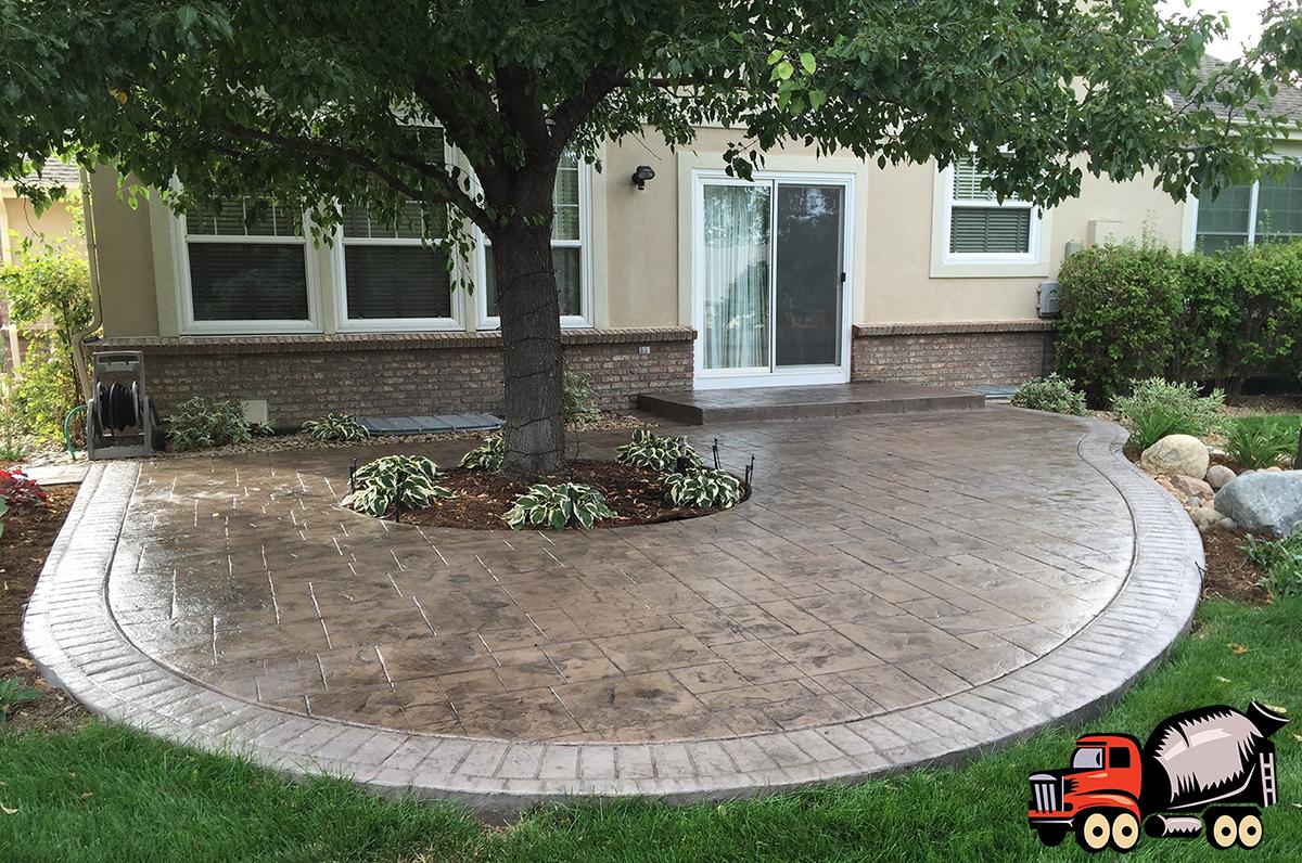 Denver Stamped Concrete Services - Patios & Driveways on Pavestone Patio Ideas id=67368