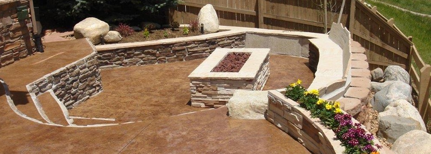 Denver custom concrete patios are a specialty of Js Concrete