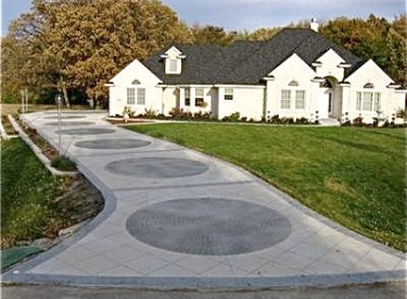 Denver Decorative Custom Concrete Driveway