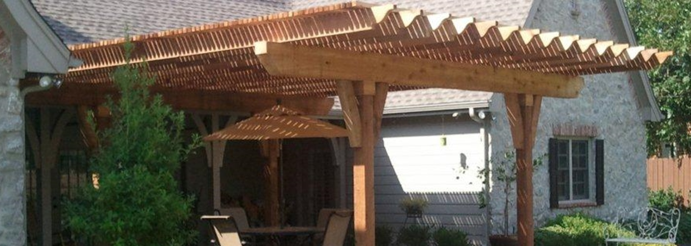 denver pergolas are our favorite specialty work