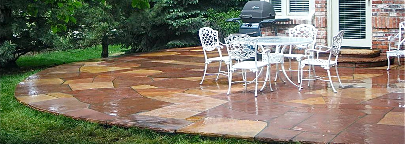exquisite denver flagstone masonry is our special service