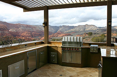 No Problem, We Also Can Design Custom BBQ Islands Using Cal Flames Modular  Products That Provide The Framework And Exact Fit For Your Custom Outdoor  Kitchen ... Good Looking