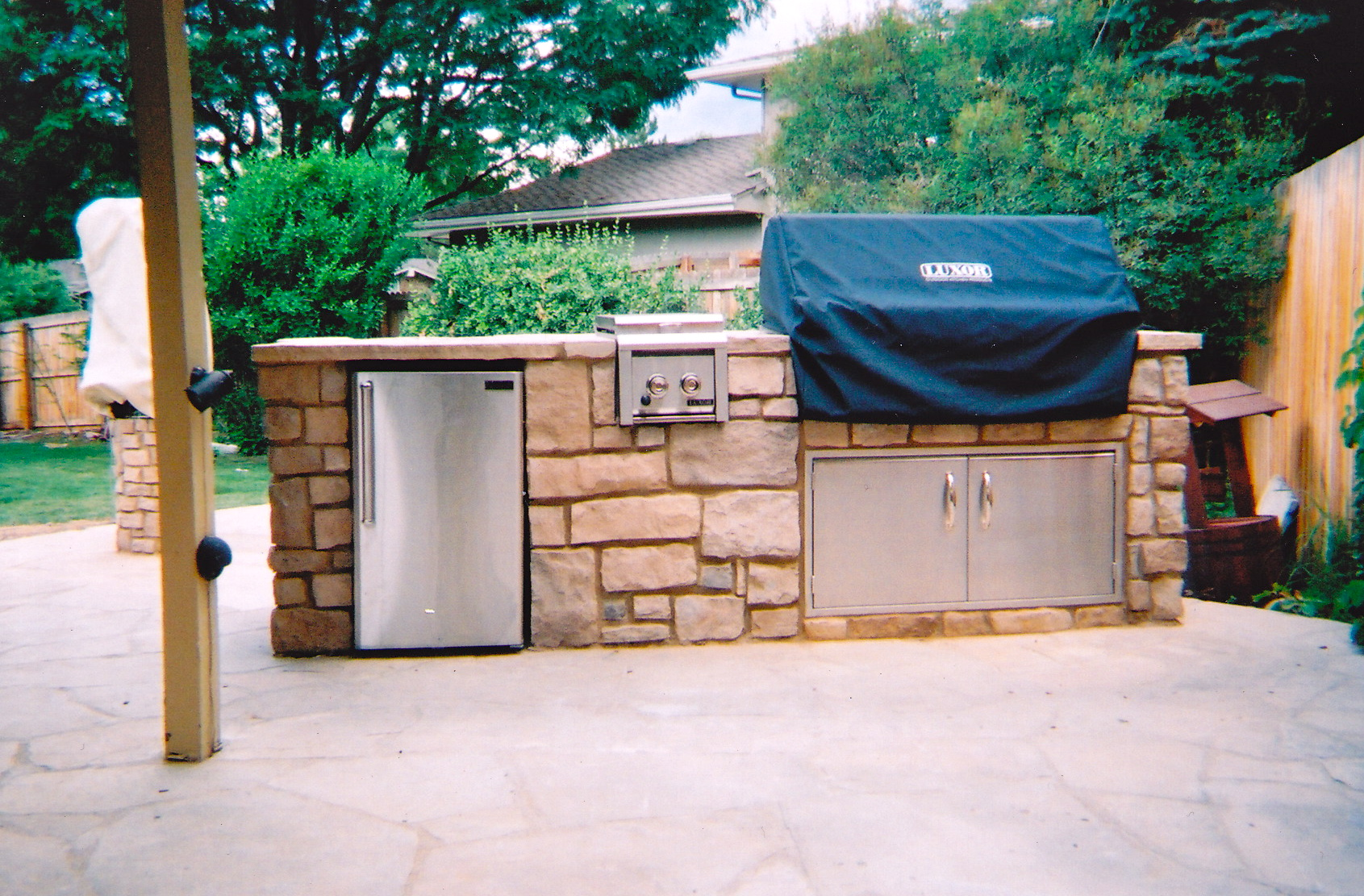 Building An Outdoor Kitchen Bbq Islands Contractor Denver Custom Outdoor Kitchen Masonry