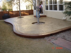 concrete patio denver