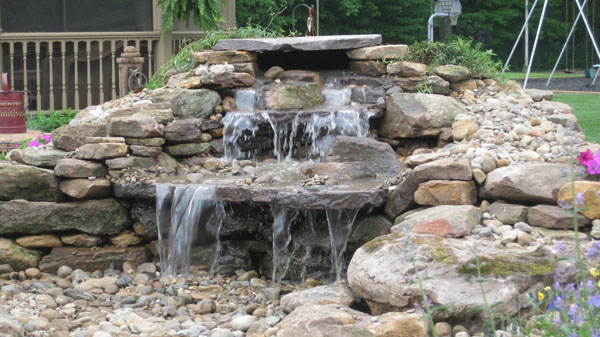 Water features denver denver water garden contractors for Small backyard water features