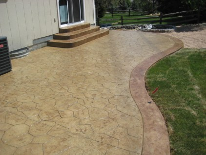 Stamped Concrete makes Denver homes more beautiful