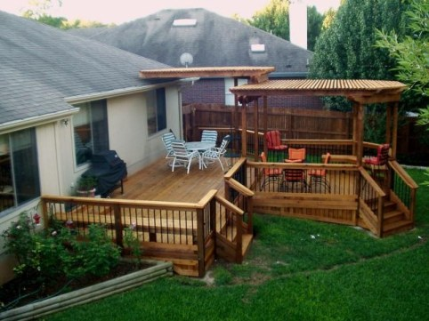 Denver Outdoor Deck Design adds beauty to your home