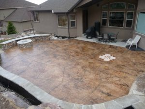 concrete patios and outdoor living