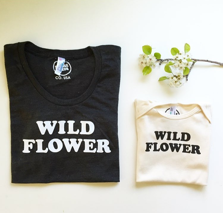 Mother's Day in Denver Wild Flower t-shirts