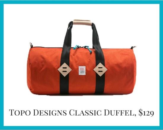 Local Colorado gifts Topo Designs bags