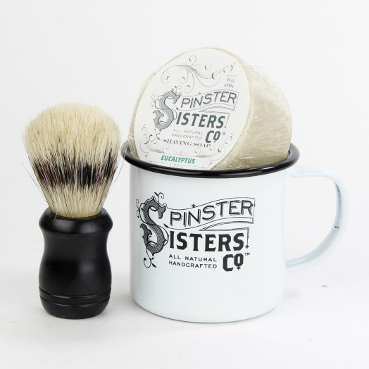 Denver Holiday Gift Guide -- Spinster Sisters shaving kit