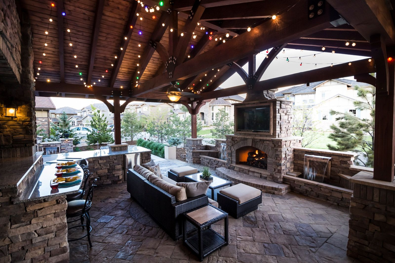 Outdoor Living Spaces & Structures - Elite Landscape ... on Outdoor Living And Landscapes id=21409