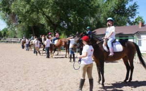 DE Horse Campers enjoying their ride