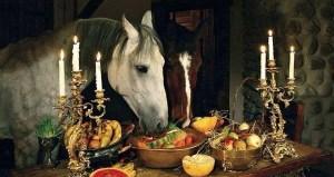 Thanksgiving Horse Feast