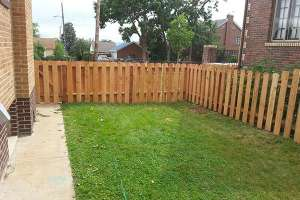 little fence and grass A Straight Up Fence Company Denver