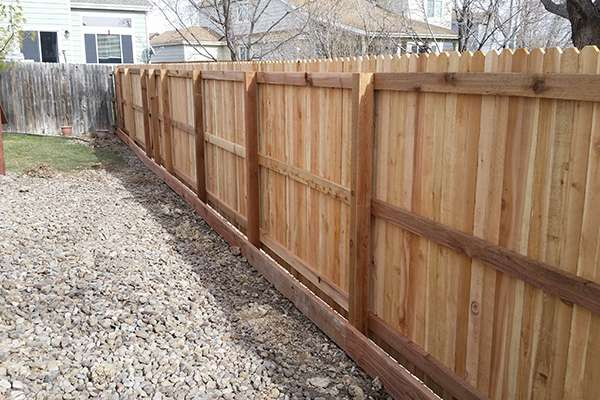 Fence Project Gallery Denver A Straight Up Fence Company