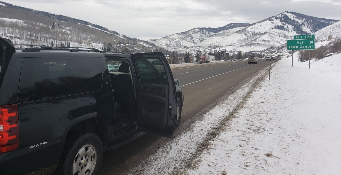 SUV Executive Black Car Service to Vail Colorado