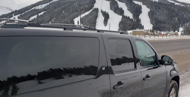 Denver Airport to Cooper Mountain private transportation. Private SUV service to Cooper Mountain ski resorts