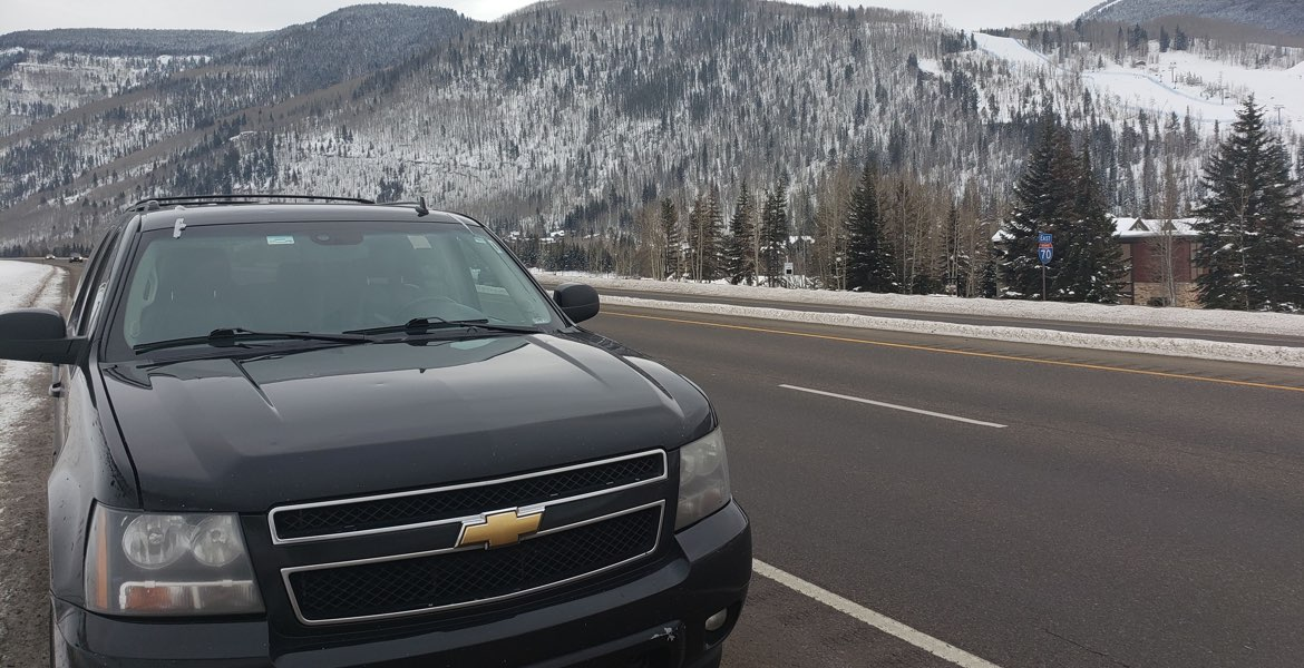 private SUV car service from Denver to Vail Colorado