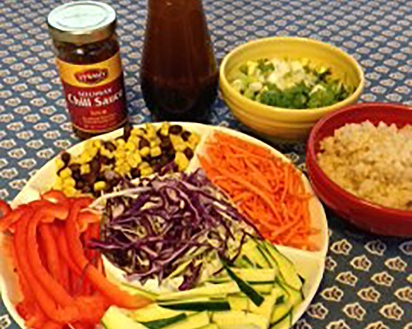 Asian Fusion Slaw is a Palate's Paradise