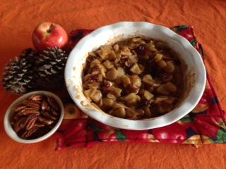 Cinnamon-Baked Apples & Cranberries