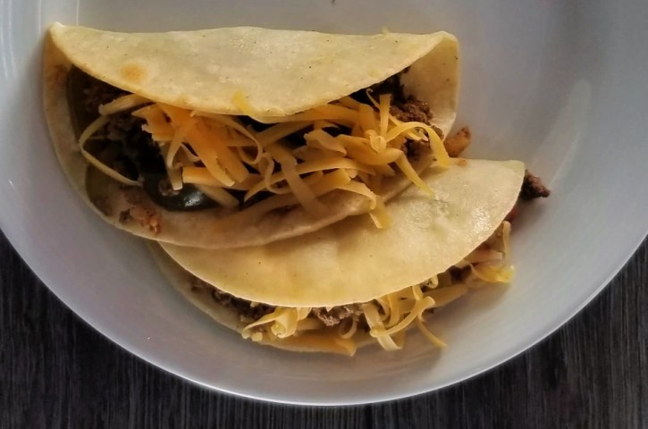 Ground Beef and Veggie Tacos