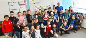 Junior Achievement elementary class