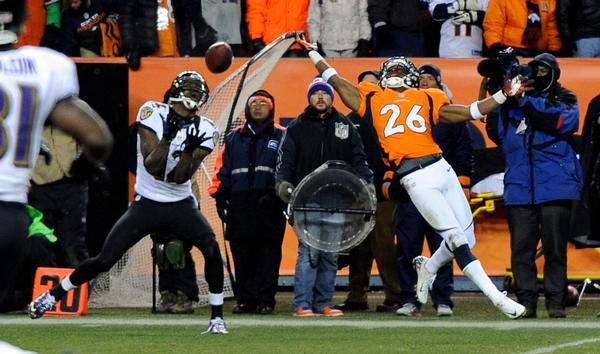 Image result for ravens vs broncos 2012