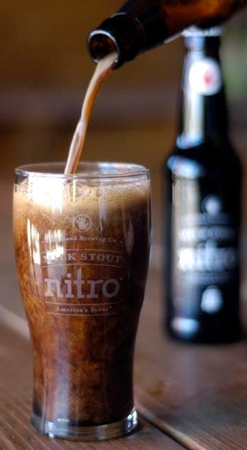 Left Hand's Milk Stout is one of the brewery's Nitro series, which are bottled with nitrogen to create a smoother mouthfeel.