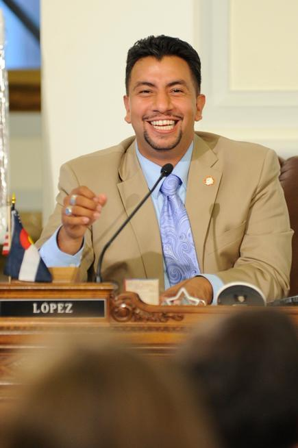 Paul Lopez is running unopposed for the Denver City Council District 3 seat.