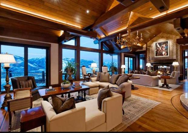 65 Million Mansion Sits Atop Aspens Billionaire