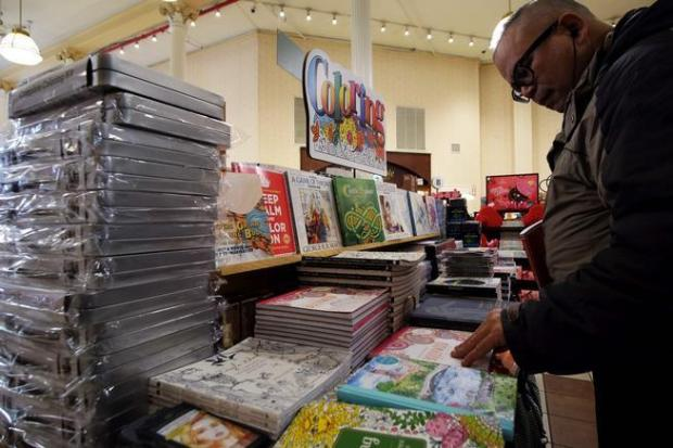 Barnes & Noble holiday sales sink as coloring-book fad fades – The ...